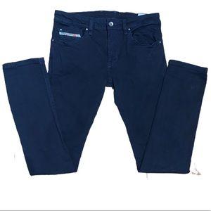 Diesel Jeans Youth Dark Wash Slim Skinny Size 14Y